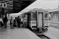 153377 Haverfordwest (RyanTaylor1986) Tags: west wales rural train diesel class railcar service local passenger railways regional provincial 153 haverfordwest 153377