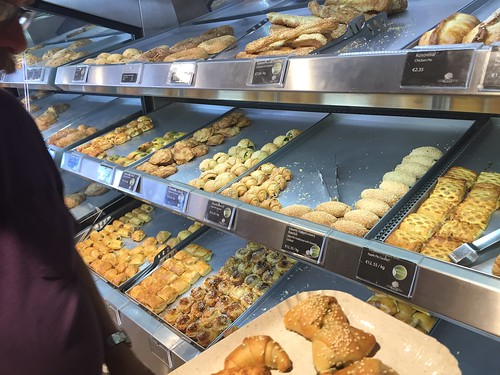 Pastry shopping in Nicosia, Cyprus. June 7, 2016.
