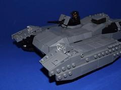 Scorpion Tank WIP (EliteTC) Tags: lego halo scorpion tank war scifi vehicle wip