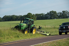 D6060_CM-169 (MoDOT Photos) Tags: green rural heavyequipment colecounty mowers centraldistrict modot safetygear bycathymorrison d6060