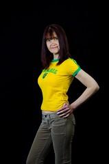 Portrait (Glennskitchen) Tags: brazil portrait sexy shirt lens football nikon legs mature trousers tight lng nostrobistinfo 1685mm d7000 removedfromstrobistpool seerule2