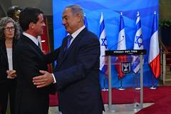 PM Netanyahu Meets French PM Manuel Valls (Prime Minister of Israel) Tags: israel jerusalem isr