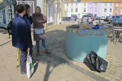 IMG_1973MichelleMosaics (janohighway) Tags: summer sculpture art design seaside community selection environment choice recycling collective debate teignmouth outdoorart ecoart sculpturetrail devonuk womenartists trail2016