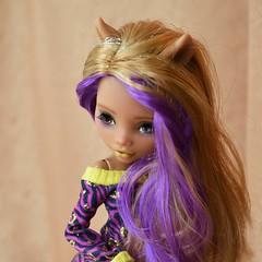 Clawdeen (Xeniya_) Tags: girls wolf doll ooak repaint clawdeen monsterhigh clawdeenwolf ooakmonsterhigh ooakclawdeen