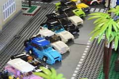 Hot Minifig Rides 2016  (Tamotsu_4WLC) Tags: street beach car truck drag lego parking event hotrod custom lowrider carshow hopping jdm racer drift usdm 4wlc