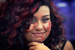zombie portrait (fat-freddies-cat 3 million views) Tags: street portrait birminghamengland zombiewalk