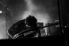 (jaredatevents) Tags: canon ef2470mmf28 6d eos artist musician band livemusic performer rock concert hobart tasmania gig music darkmofo festival guitar guitarist stage performance bw blackandwhite blackwhite people chelseawolfe