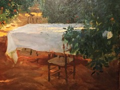 Sorollo and the Paris years, Musee des Impressionnismes, Giverny, Etudes, oil studies, studies (Paris Breakfast) Tags: giverny studies etudes oilstudies sorolloandtheparisyears museedesimpressionnismes