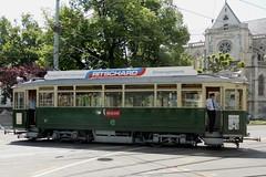 The vintage tram in Geneva - photo by Bob Ellis