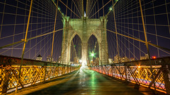 Brooklyn Bridge by Night (Malick) Tags: city newyorkcity longexposure travel bridge winter usa newyork skyline brooklyn night america skyscraper lens photography lights nikon unitedstates angle manhattan wide sigma dslr 1020mm uwa d5200