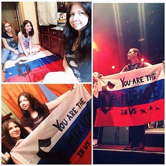 #Repost @alexasergeeva: Nothing can describe this day. Too many emotions, too much love. It's the first time for me to make a flag for the concert. We have been working on it the whole evening. And it was worth it!! Thank you, guys! #shinedown #YouAreTheM (ShinedownsNation) Tags: zach eric bass nation smith barry brent myers shinedown kerch shinedowns