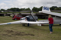 Rigging.. (Air Frame Photography) Tags: uk england flying aircraft airplanes competition gliding glider gliders ls oxfordshire dg shenington bga regionals avgeek realflying