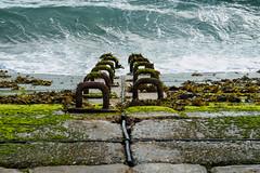 Sea Wall Portsmouth E6240476_07 (tony.rummery) Tags: england seaweed waves unitedkingdom olympus seawall gb portsmouth southcoast southsea omd em10 mft microfourthirds
