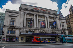 The Liverpool Empire (Brian Travelling) Tags: street urban bus liverpool pentax empiretheatre pentaxdal pentaxkr
