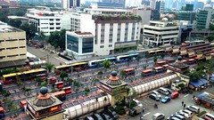 Blok.M City Bus Terminal, South Jakarta. (20160703_164146) (MYW_2507) Tags: skyline cityscape skyscrapers jakarta highrises blokm kebayoranbaru