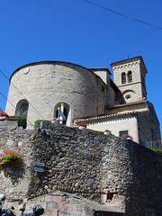 Saint-Hilaire - Abbaye - Eglise (Fontaines de Rome) Tags: aude sainthilaire saint hilaire abbaye eglise