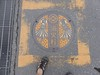 Kawagoe manhole (Stop carbon pollution) Tags: japan 日本 honshuu 本州 kantou 関東 saitamaken 埼玉県 manhole マンホール