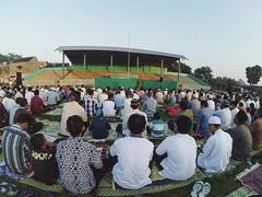 eid al-fitr Prayer at Solo, Jawa tengah (Yudha Hanottama) Tags: indonesia al muslim islam prayer pray solo kota fitr ied mubarak moslem indoensia sholat