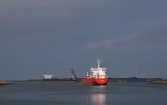 Sitting at the dock of the bay (Johan Moerbeek) Tags: haven port noordzee ijmuiden sluizen lock boat stayviking stavanger noordholland noordzeekanaal nederland