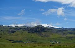 Le glacier de la montagne des les (Iris_14) Tags: iceland islande eyjafjallajkull volcan glacier nature suurland