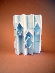 Mr. Pixel (Rui.Roda) Tags: origami papiroflexia papierfalten pixel