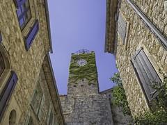 Vézénobres, clocktower