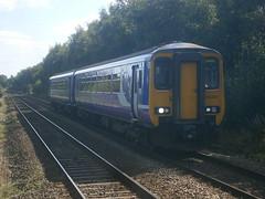 156421 @ Hag Fold (ianjpoole) Tags: northern rail 156421 working 2f13 manchester victoria kirkby