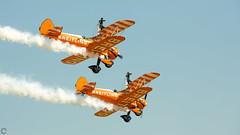 Breitling Wingwalkers (raveclix) Tags: raveclix india canon 5d markiii sigma sigma150500mmf563apodgoshsm airshow aeroindia aircraft