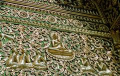 Laos : Luang Prabang, Haw Kham #4 (foto_morgana) Tags: analogphotography analogefotografie asia belief buddhism indochina laos nikoncoolscan photographieanalogue religion travelexperience vuescan