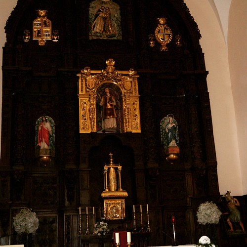 Iglesia de Potes, altar mayor