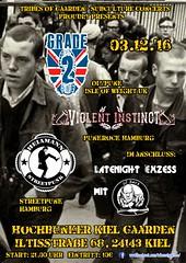 Grade 2, Heiamann, Violent Instinct (micha_nismus) Tags: grade 2 heiamann violent instinct tribes of gaarden subculture concerts skinheads kiel oi punk