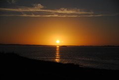 Sunset at Clachan Sands (What I saw...) Tags: clachan sands beach outer hebrides north uist sunset