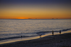 Sunset at South Beach (Odette Cavill) Tags: sunset australia wa fremantle pj6 romanticsunset familysunset southbeachsunset odettecavill