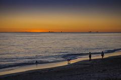 Sunset at South Beach (Odette Cavill) Tags: sunset australia wa fremantle pj6 romanticsunset familysunset southbeachsunset odettecavill