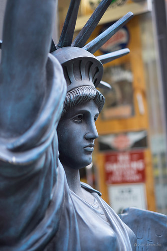 (Plastic) Miss Liberty