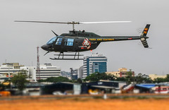 Bell 206 (Andy.Gocher) Tags: canon ecuador force bell outdoor aircraft air 206 helicopter vehicle tiltshift rotorblade 100d sigma18250 miniaturemode andygocher canon100dsigma18250