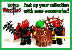 zest (MandaBW) Tags: christmas new holiday toys dragon lego gifts gift presents accessories guide minifigs custom minifigure lizardman brickwarriors