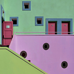 Crazy islander colours (Nespyxel) Tags: windows lines architecture square doors colours sicily colori isle sicilia eolie stromboli quadrato isola geometrie linee geometries architettuta stefanoscarselli