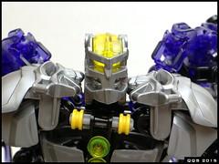 Dark Hero - face without mask (Kukus_) Tags: dark lego hero bionicle 2015 qqs qqsuiverse
