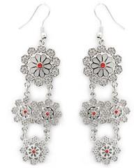 5th Avenue Red Earrings P5920-2