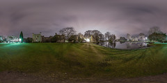Towneley Hall (Johnytuono) Tags: night 16mmfisheye
