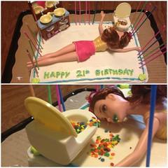 21st Birthday Cake Ideas Barbie (careacindy) Tags: birthday cake 21st barbie ideas