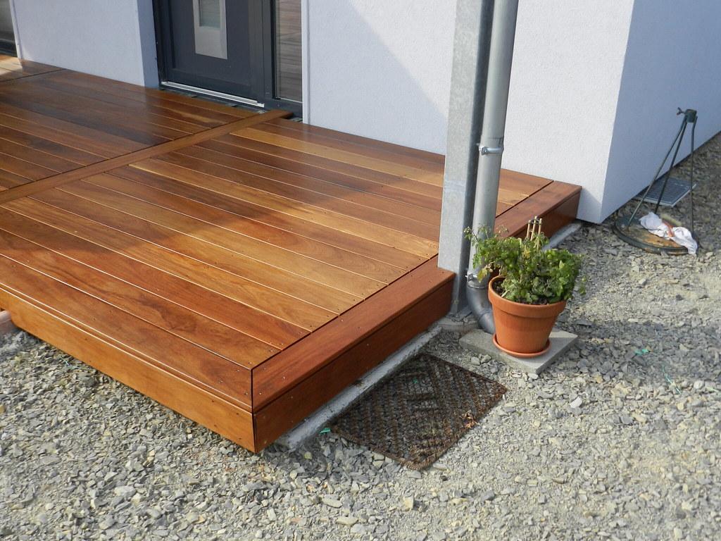 Pose terrasse bois exotique Cumaru  Nature Bois Concept