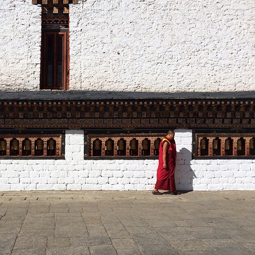 In the courtyard of Tashichhodzong.  #bhutan #thimphu #wanderlust #travel