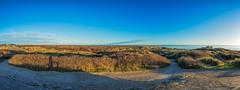 No. 0979 Skagen Grenen (H-L-Andersen) Tags: blue sky panorama seascape beach rollei landscape eos dunes novembermorning 1740mm skagen manfrotto 6d grenen landoflight 2have canoneos6d hlandersen de2have