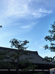 Autumn sky (kaoDorac) Tags: sky cloud nature japan temple kyoto scape 百万遍 知恩寺