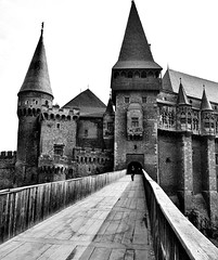Transylvania, Romania (PM Kelly) Tags: wood old travel bridge school white black castle halloween dark blog scary europe photographer witch wizard path traditional gothic harry potter tourist dracula romania mystical hogwarts transylvania witchcraft mystic vlad impaler hunedoara wizardry outstandingforeignphotographersvisitingromania pmkphoto