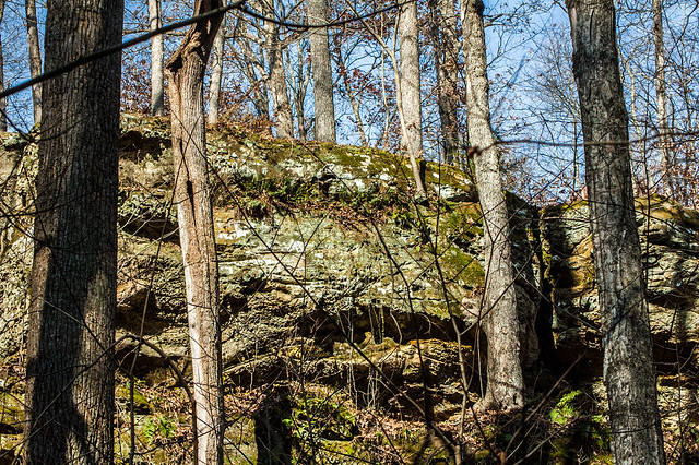 Hoosier National Forest - Hemlock Cliffs - November 8, 2014