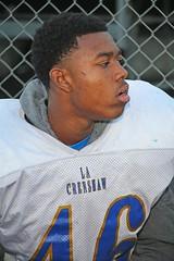 D112112A (RobHelfman) Tags: sports losangeles football highschool practice crenshaw nygellewis