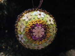 Hand Beaded Pale Green, Purple and Gold Christmas Bauble with Floral Decoration (raaen99) Tags: flower tree green floral ball festive shiny pin handmade decoration christmastree celebration gift christmasdecoration ribbon merrychristmas bauble matte christmasgift christmasball seasonsgreetings sequin christmasbauble christmastheme handbeaded christmasthemed handmadechristmasgift handsequined handmadechristmasbauble sequincoveredchristmasbauble sequincoveredchristmasball handmadechristmasball flowersequin christmas2014 floralsequin snowflakesnowflakepurple sequinpurplegoldgold sequinmauve sequinmauvegreen sequinpale